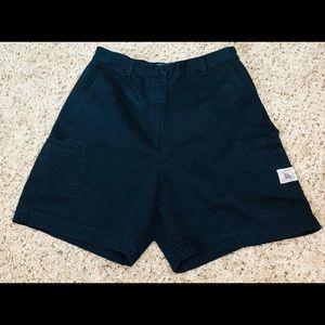 Lauren Ralph Lauren Navy Blue Cargo Shorts Size 6